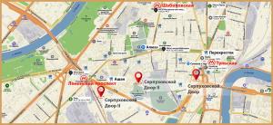 . Адреса в Москве.