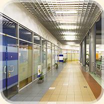 Офисный центр на метро Тульская.