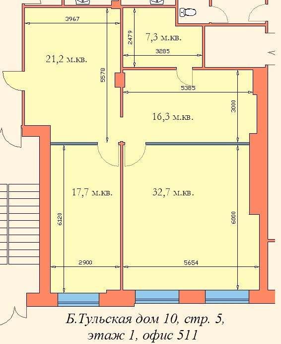 аренда офиса 90 м